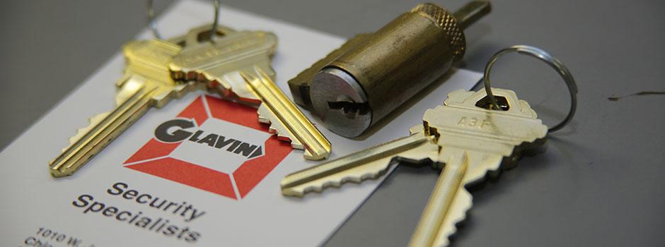 Keys and cylinder slider