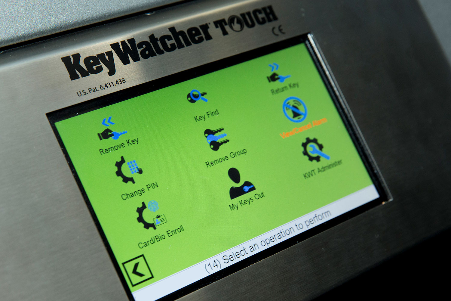 Electronic Key Box for NBC Tower, TOBY Award Winner - Key Watcher Touch